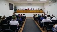 Vereadores realizam a 14ª Sessão Ordinária no Centro Cultural Ainton Garcia da Silva